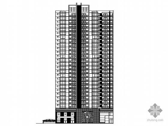 [四川]某二十八层商住楼建筑施工套图(带节能设计)