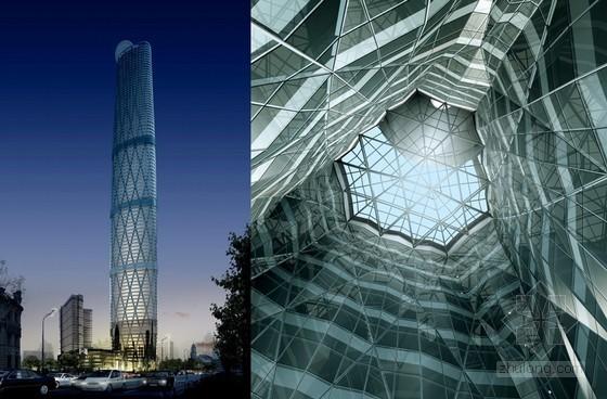 超高层建筑玻璃幕墙设计及施工技术培训讲义(附节点详图、三维效果图丰富)