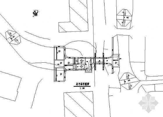 某双机组排灌两用泵站的施工图