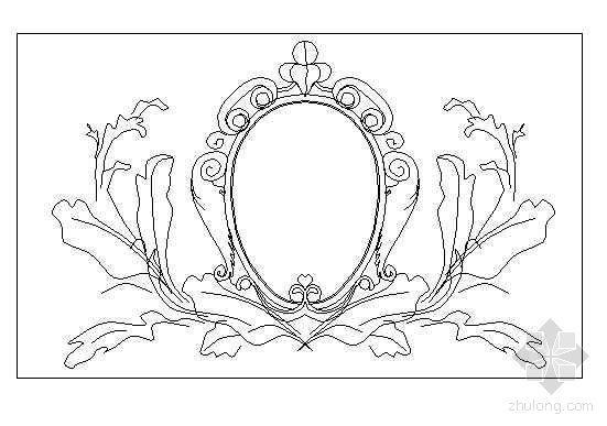 欧式雕花图块29