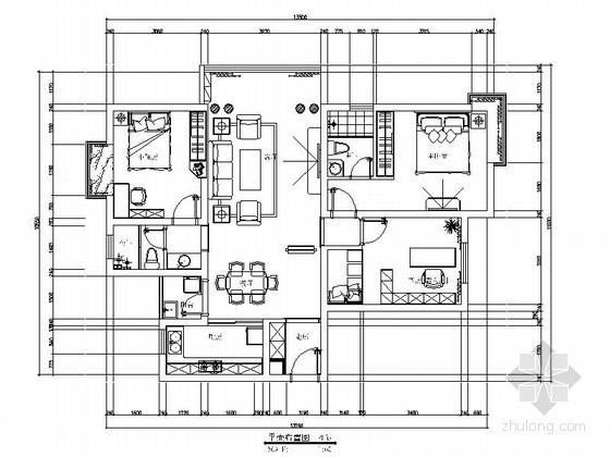 [南昌]简洁三室二厅室内装修图