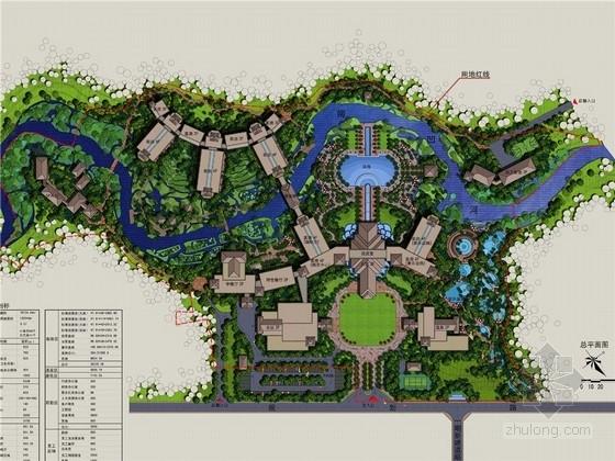 [西双版纳]温泉度假酒店景观规划设计方案