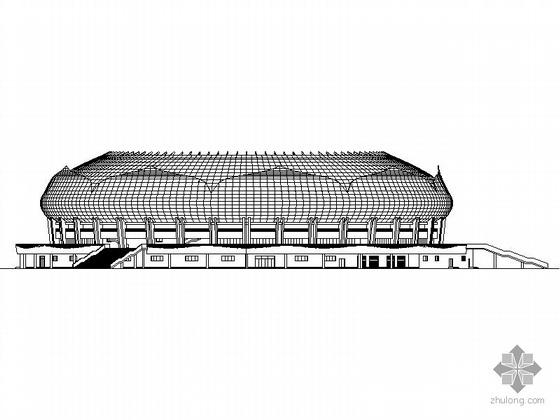 [安徽池州]某四层体育馆建筑施工图