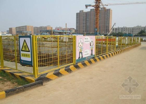 基坑装配式围护栏