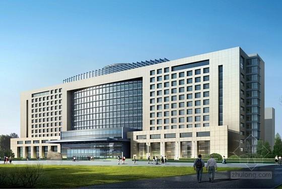 [北京]框剪结构医疗楼施工质量创优情况汇报(附图)