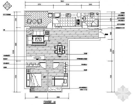 某一居室设计图纸