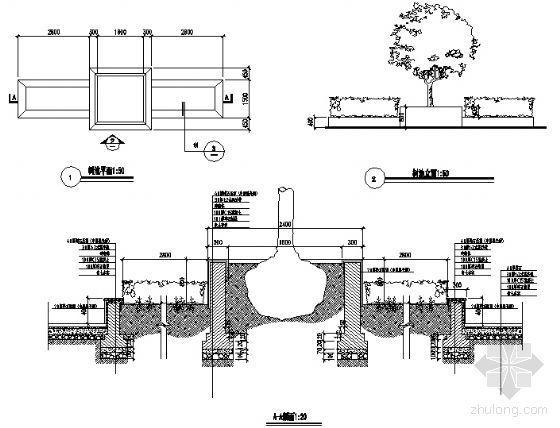 树池花池详图-4