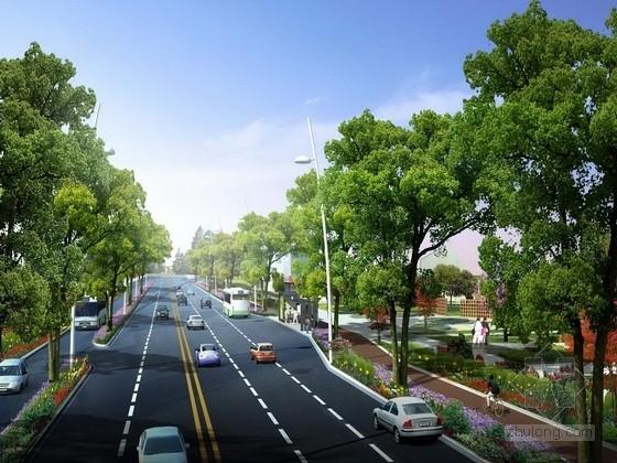 [四川]城市道路灾后重建施工图设计(含交通工程)