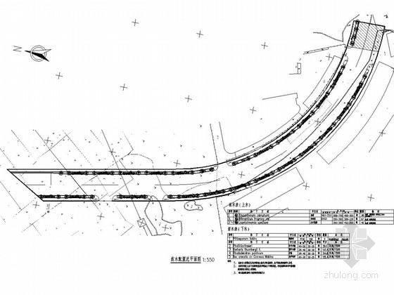 [浙江]城市次干道道路绿化工程施工图设计