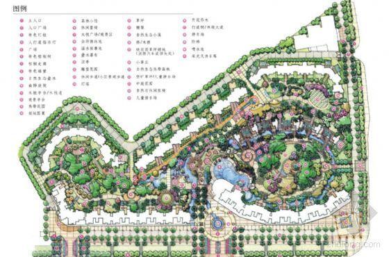 深圳小区景观设计方案全套