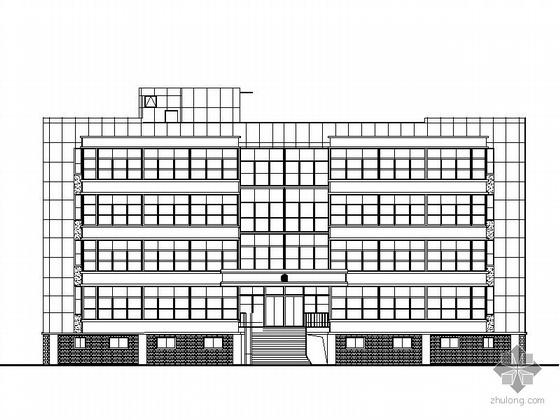[福建]某五层警务办公楼建筑施工图