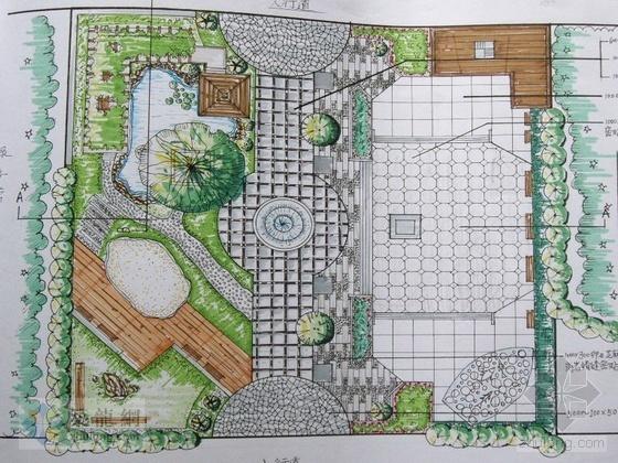 某滨水广场景观设计