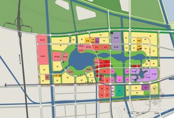 城市综合体布局图
