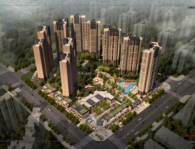 15层现代风格海赋长兴二期住宅项目建筑设计方案文本(柏涛设计院