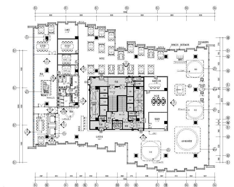 [深圳]如恩&设计共和-大涌华润城新展示中心施工图+软装设计方案