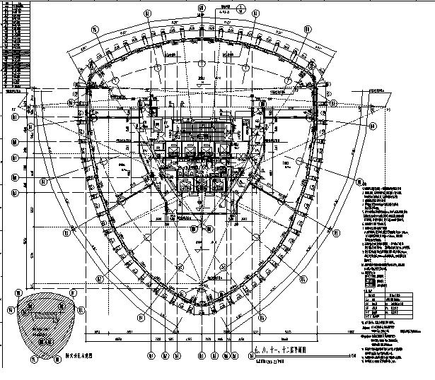 [上海]国际知名设计院办公楼最终审核图纸(16年最新)_8