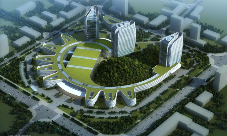 [四川]川南传统合院式大型医疗建筑设计方案文本