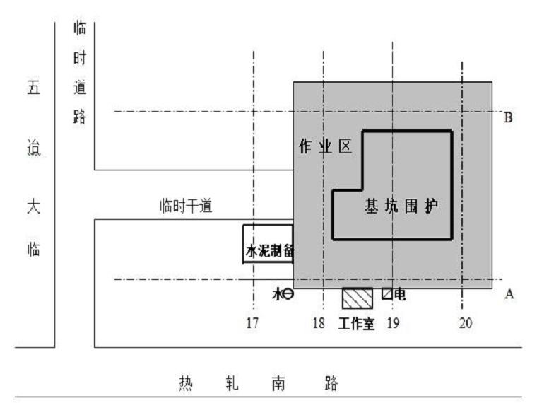 水泥土搅拌连续墙(SMW工法)施工方案