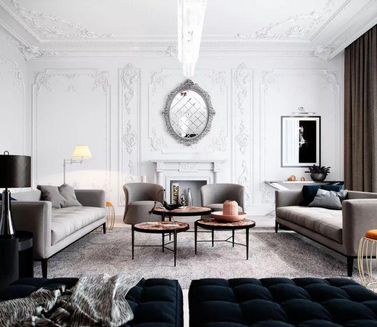 家具客厅+石膏线,为什么越来越受欢迎?