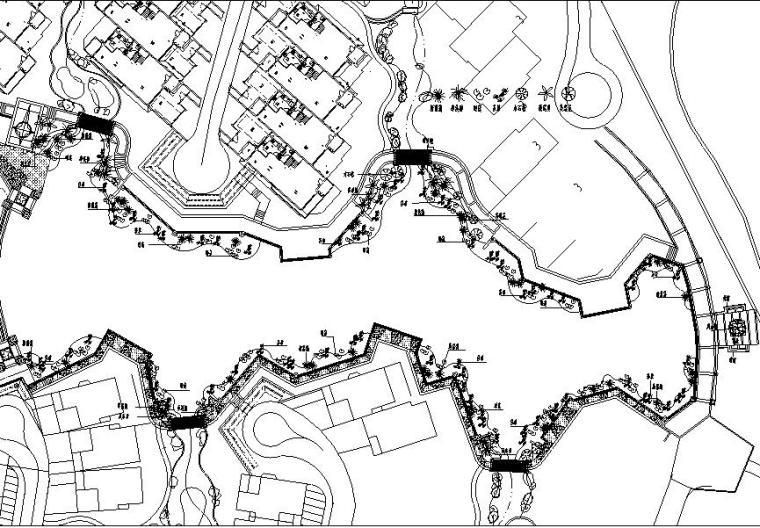 [广东]中海翠林兰溪园全套景观设计施工图(广州晴川)