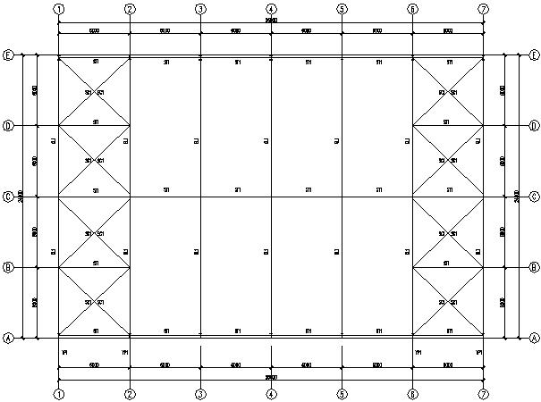 24X36m门式刚架结构工程施工图(CAD,9张)