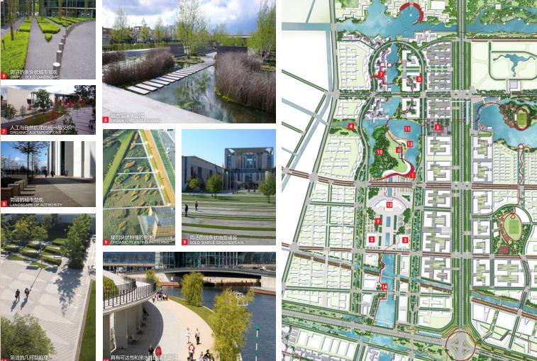 [江苏]南通市经济技术开发区核心区域景观规划(PDF+117页)-节点效果