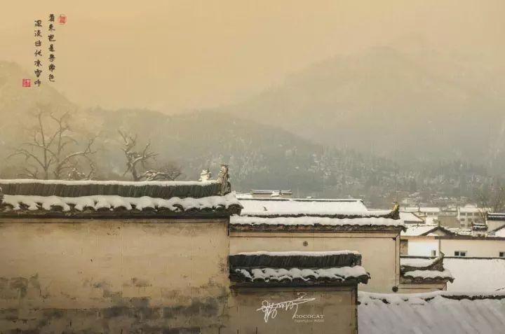 当最美的古镇下了雪,简直惊艳了整个冬天_4
