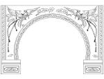 CAD室内设计施工图常用图块之隔断
