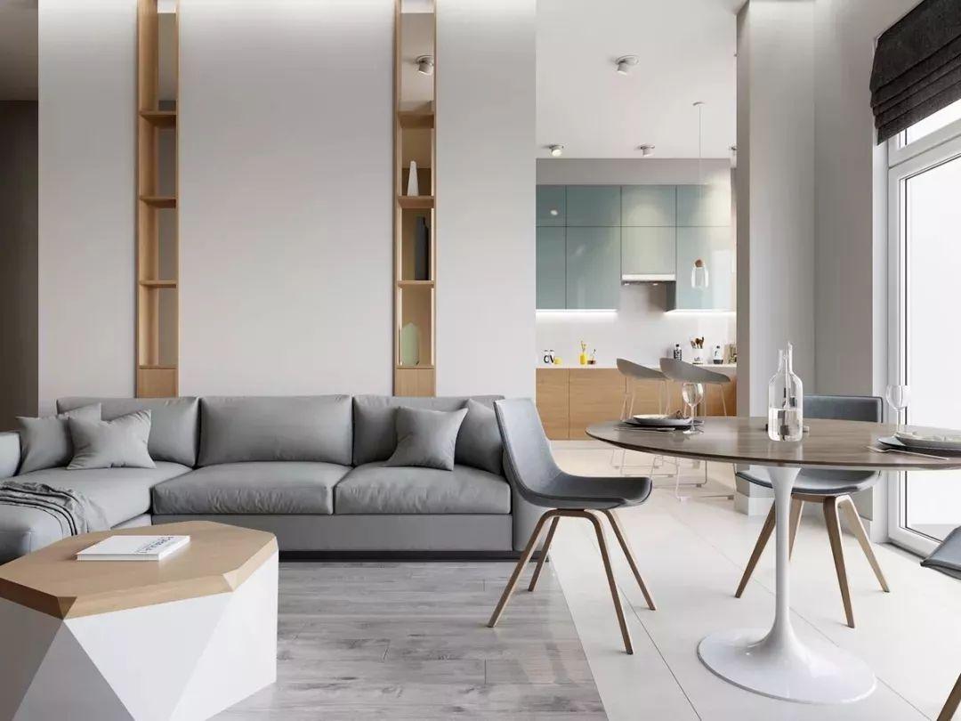 现在客厅都流行这么装,快扔掉你家笨重的大沙发吧!_17