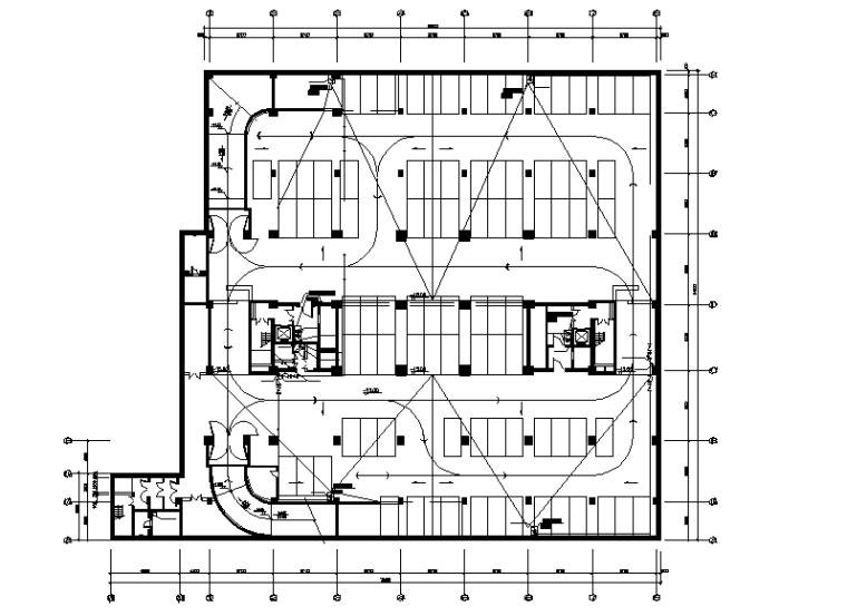 十八层办公大楼给排水施工图(给水、排水、雨水、中水)
