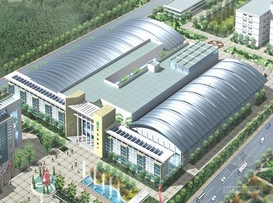 [陕西]工业厂房国家优质工程申报表范例
