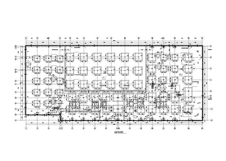 钢管砼框架-组合钢板剪力墙住宅楼结构图