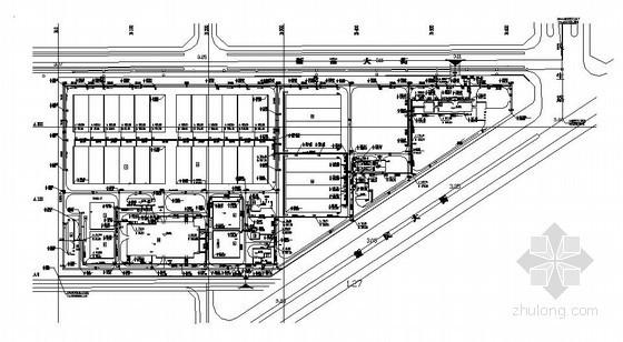[营口]污水厂全套工艺施工图