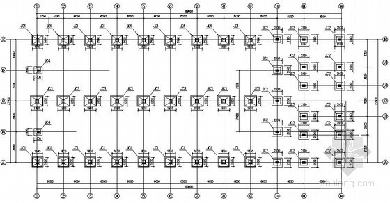 [深圳]门式刚架办公楼结构施工图