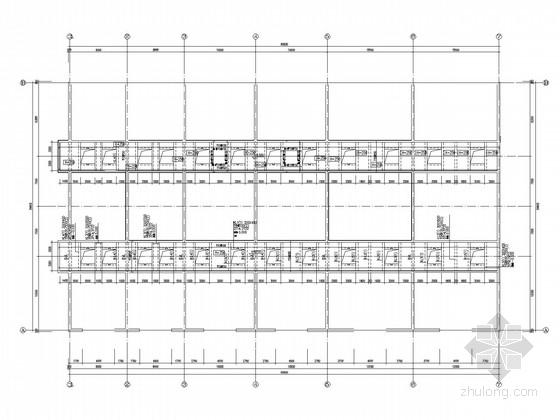 料仓及搅拌楼框架结构施工图(含建施)