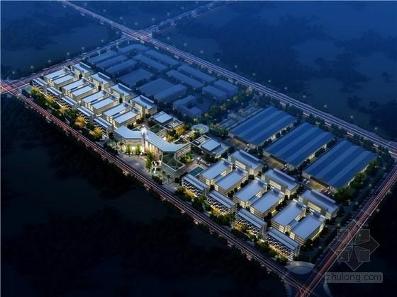 [四川]现代风格企业创新孵化园规划设计方案文本