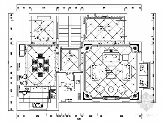 [湖南]繁华市区奢华欧式三层别墅装修图(含实景)