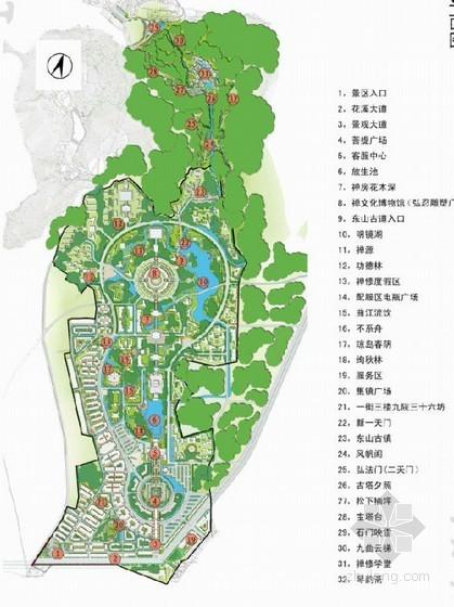[黄岗]寺庙文化旅游规划区景观规划设计方案