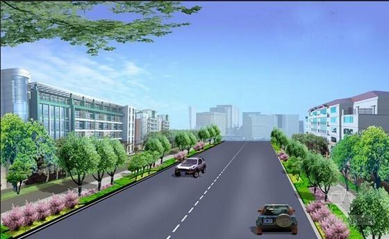 [温州]市政道路工程投资估算书(全套报表)