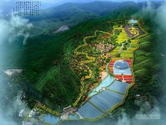 [福建]民族乡村风情农业休闲观光园景观规划设计方案