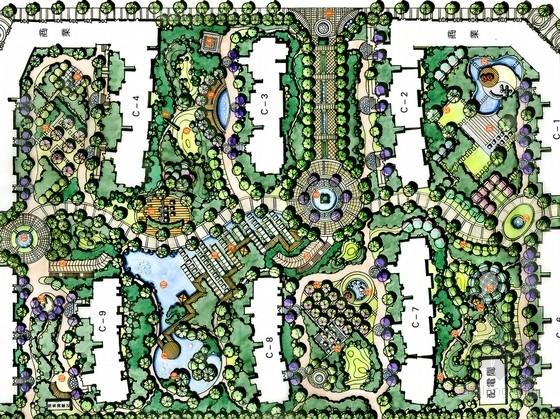 [安徽]国际花都三期景观规划设计工程方案(含CAD图纸)