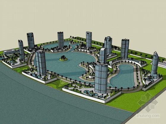 滨水高层建筑