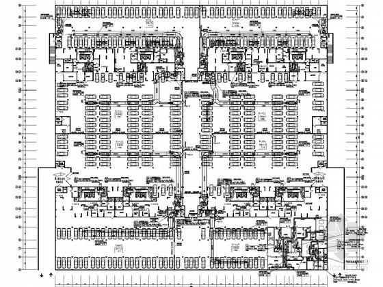 [江西]大型商办楼防空地下室通风及防排烟系统设计施工图(含人防设计)