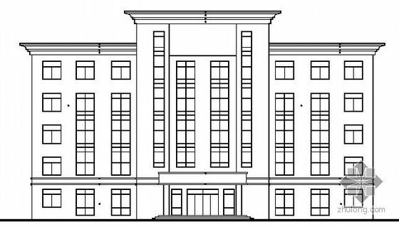 [重庆]某科技园某五层办公楼建筑结构施工图