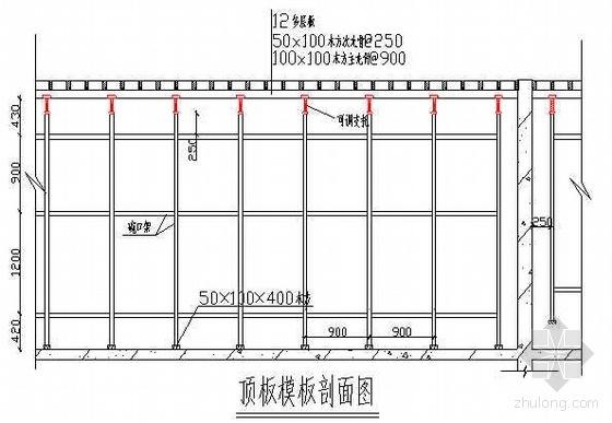 北京某多层库房及管理用房施工组织设计(附图丰富 创长城杯)