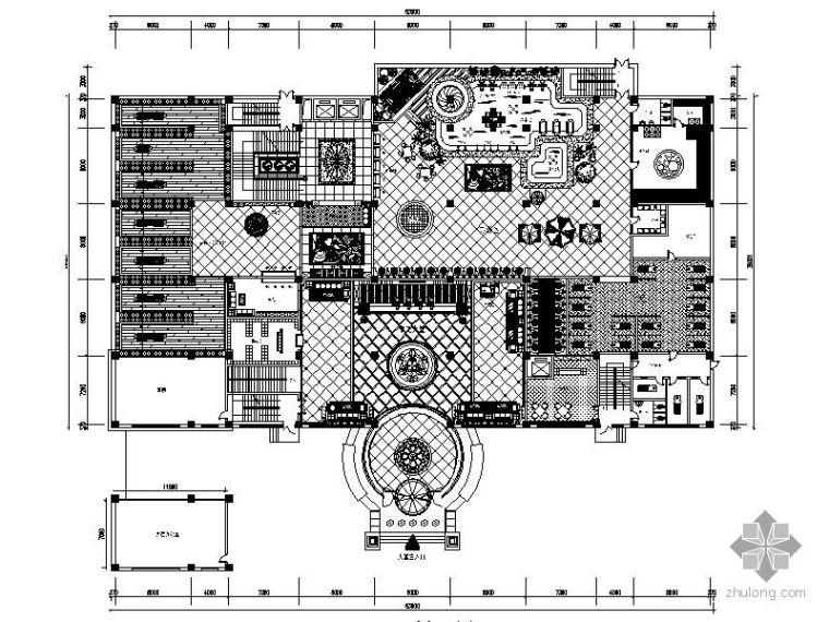 [石家庄]某假日商务会馆平面布置图