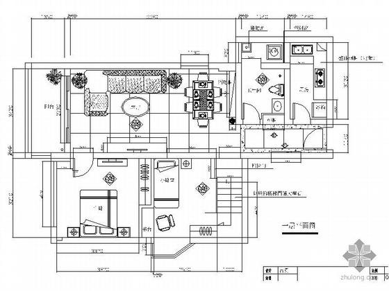 [广州]某复式楼装修图(含效果)