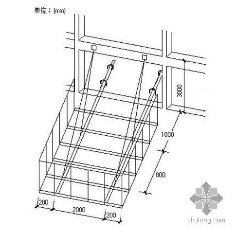 某型钢挑卸料平台施工计算书(附计算报审表和技术交底)
