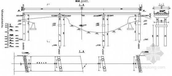 张家港市妙旸线改造工程某空心板桥施工图