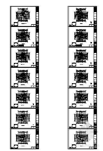 某小区建筑户型图-B